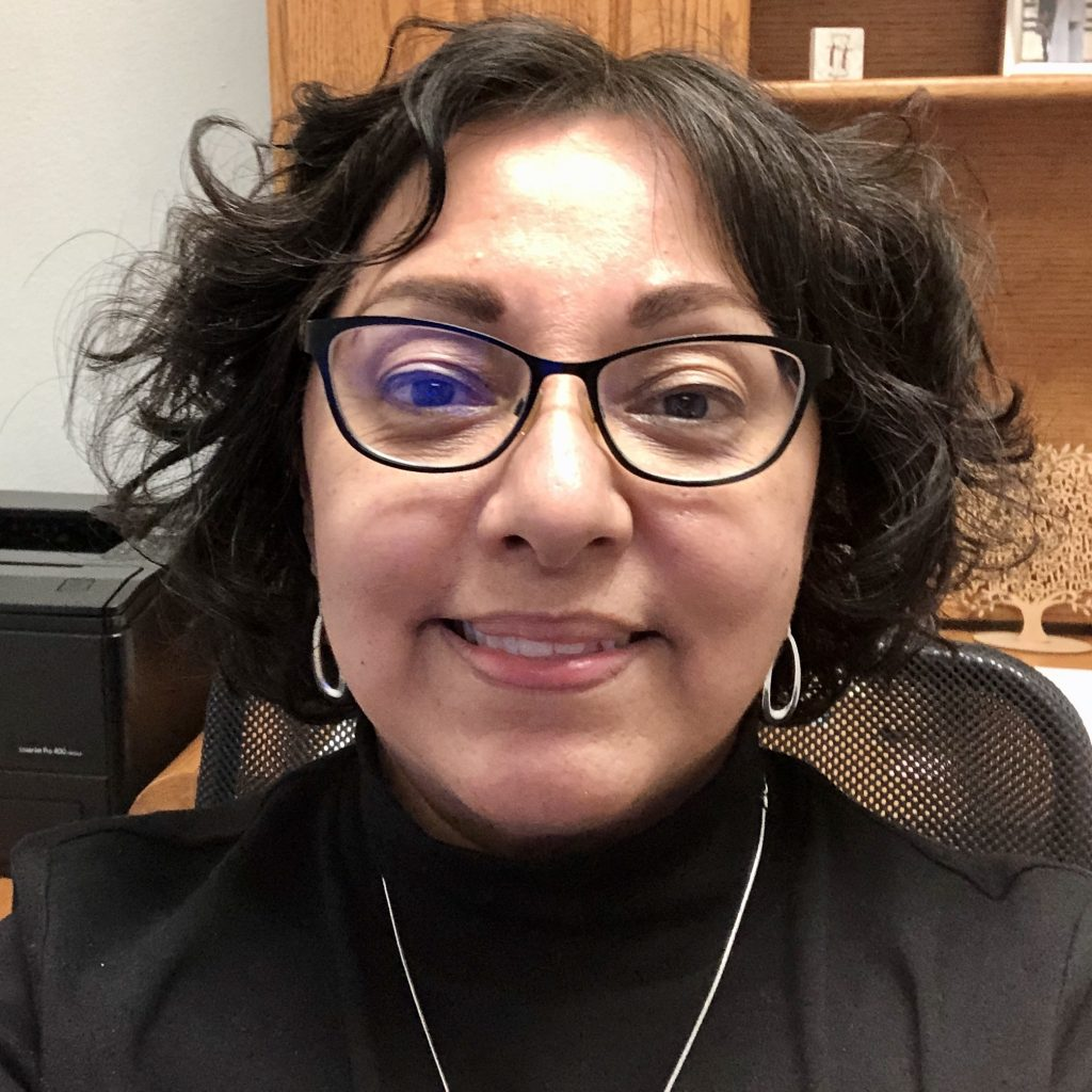 Photo of Irene Menchaca-Booth (paralegal/office manager)